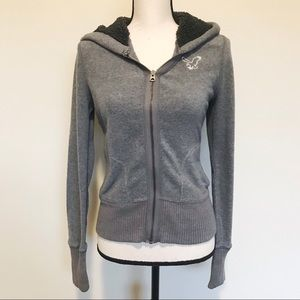 AE American Eagle Outfitters Hoodie Jacket 1977